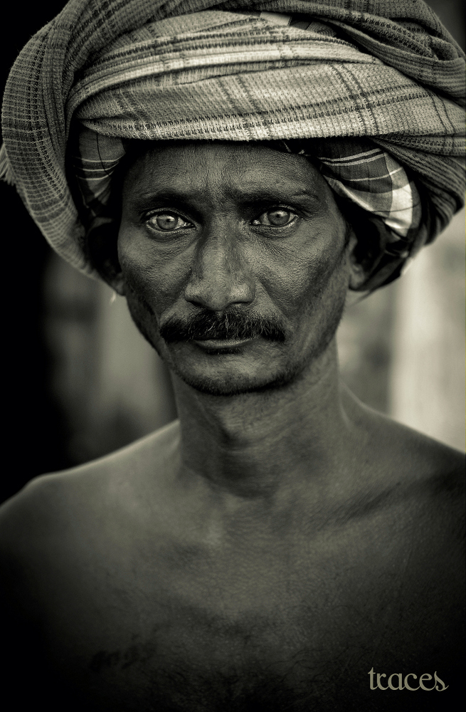 Striking eyes of the Kolavai Fisherman!