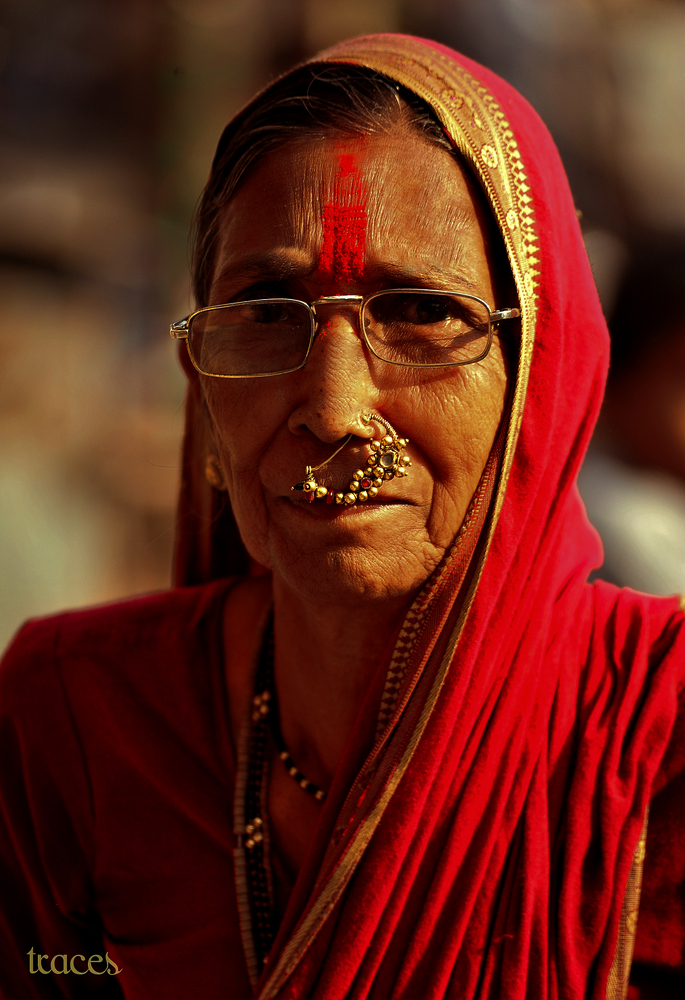 A Maharashtrian Woman!