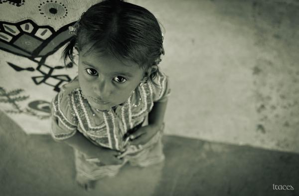 Eye to eye with the Banni girl!