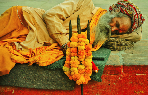 The nap of the Babaji!