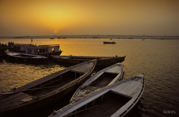 Sunrise from Dashashwamedh Ghats