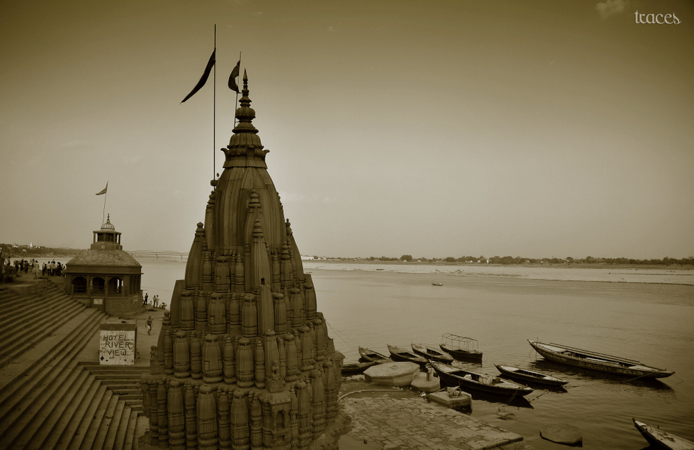 The submerged house of Lord Shiva!