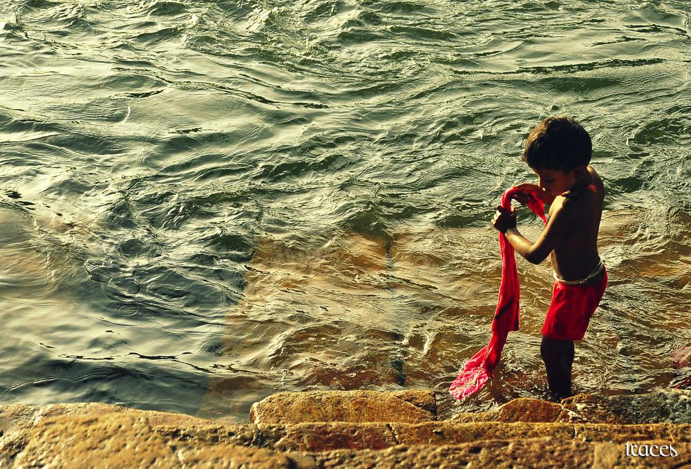 On the banks of the river Thamirabharani