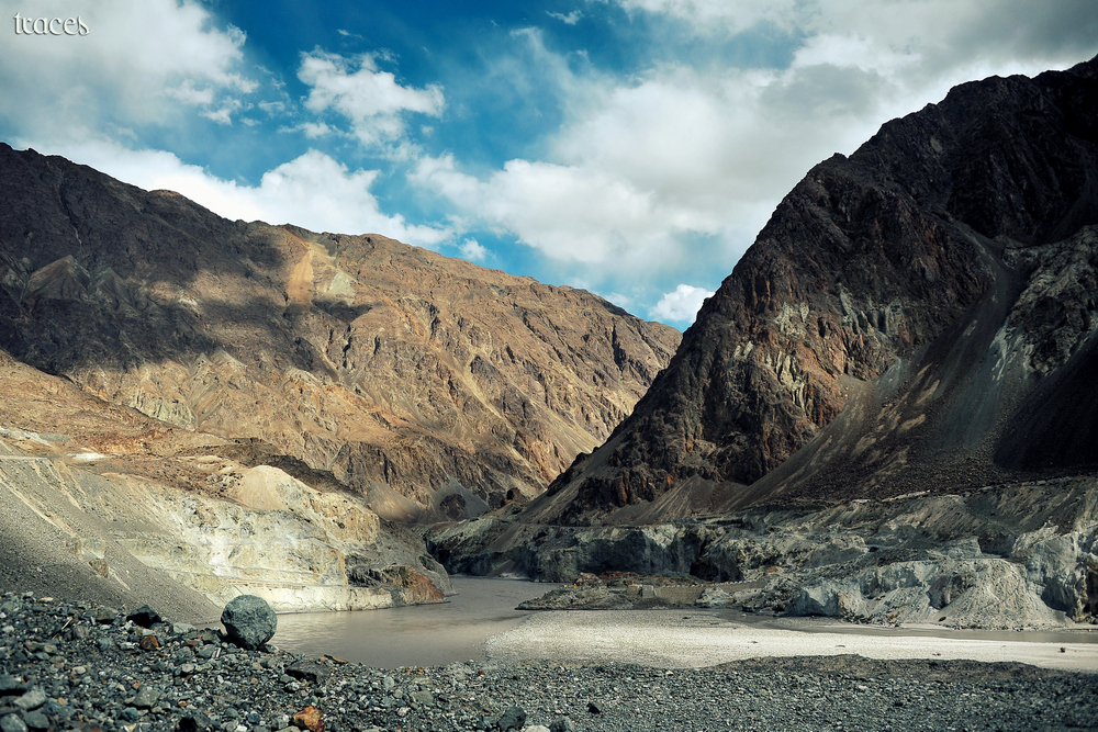 When the Himalayas met the Karakoram!