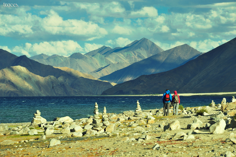 Together at Pangong