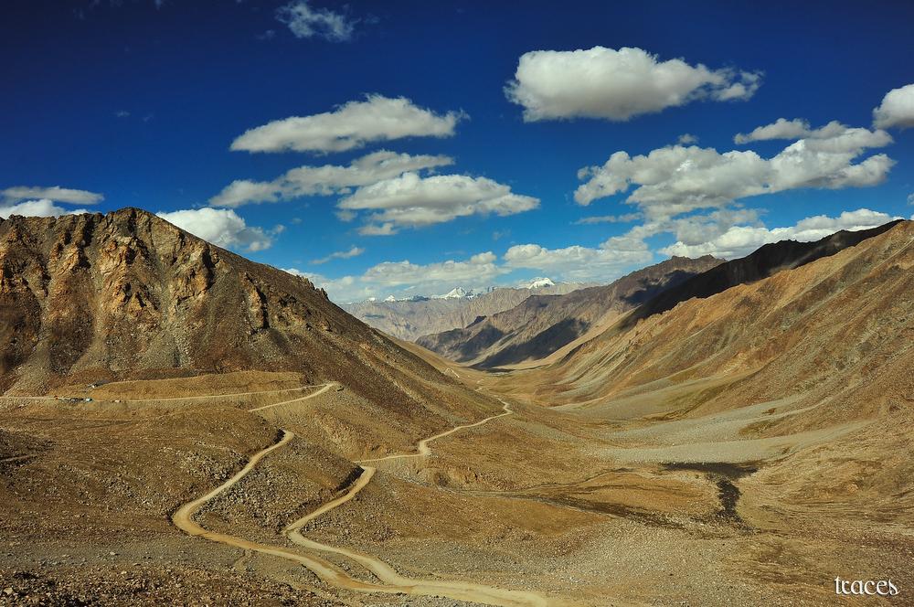 The descend after North Pullu