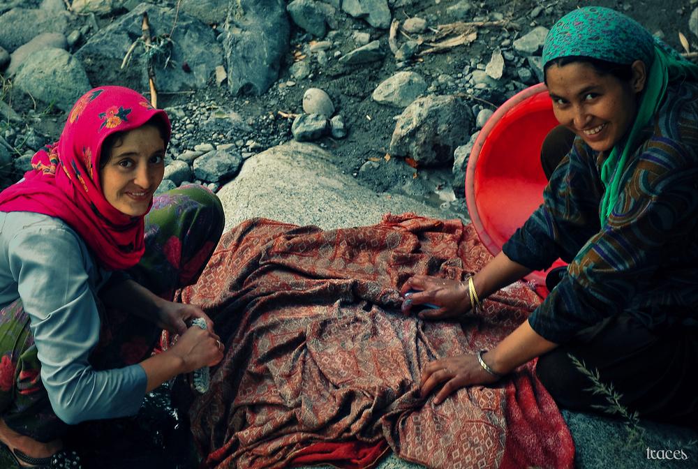 The washerwomen of Bodang