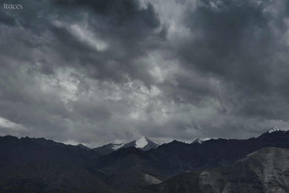 Clouds loom over Leh!