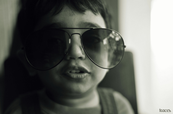 Dude and his shades!