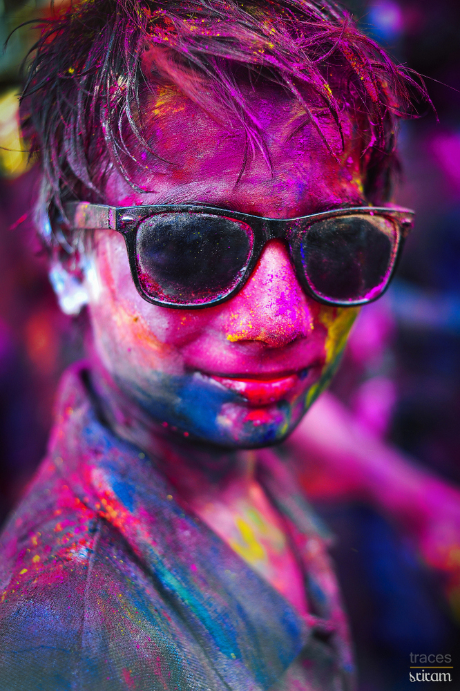 Simply the coolest Holi