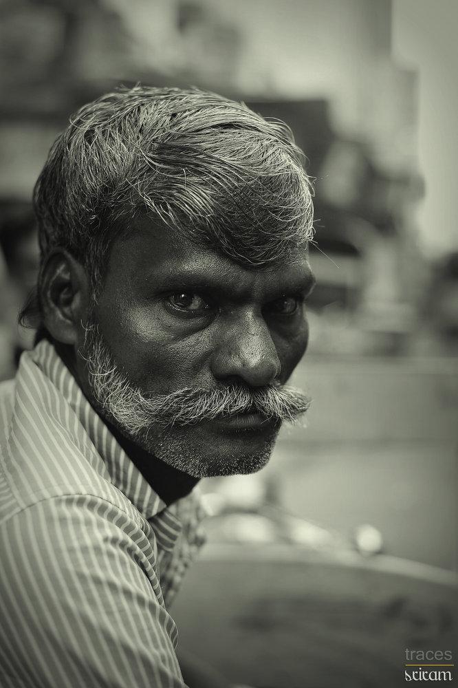 """The """"meesai"""" rickshawman"""