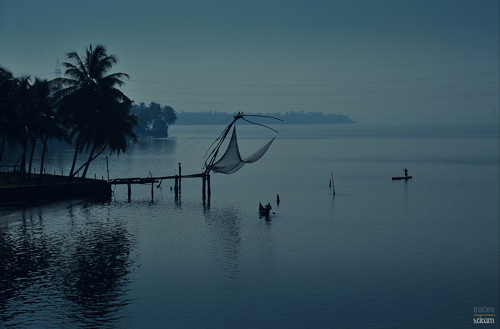 A perfect morning at the backwaters