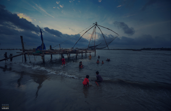 Evening at the Kochi waters