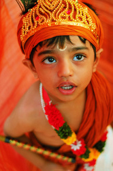 Contemplations of the little Krishna