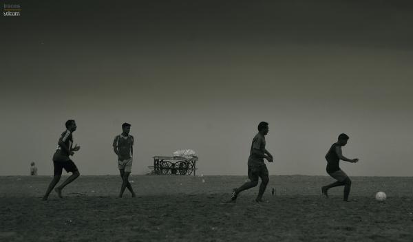 Football at Marina