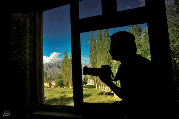 At the window side.. in Leh!