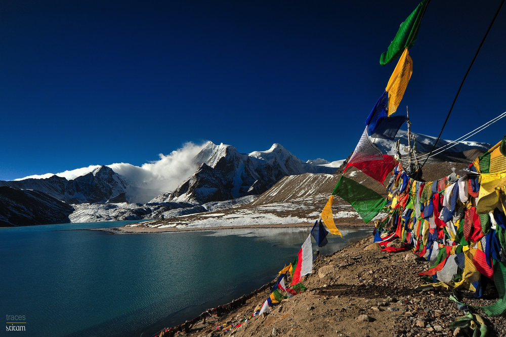 Chants at the Gurudongmar Lake