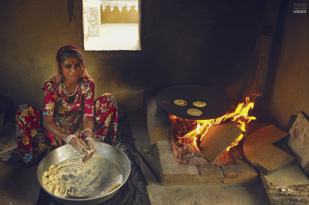 The aroma of the Rajasthani Delicacy