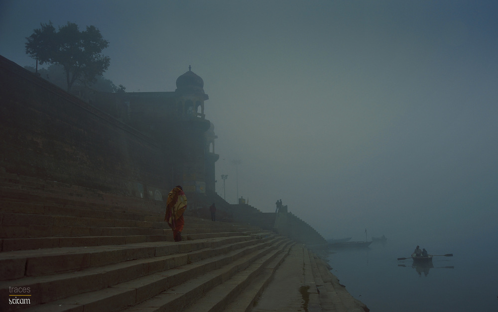 One foggy morning at the Ghats