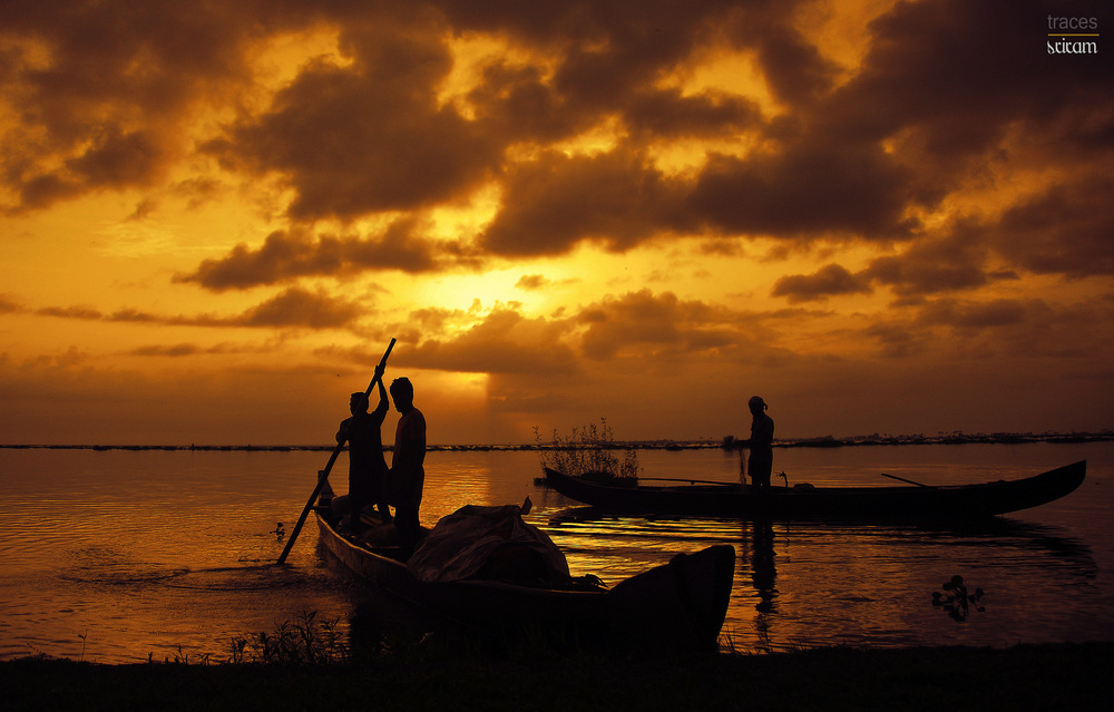 The dawn time fishermen