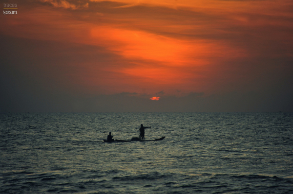 Another morning at the Madras coast