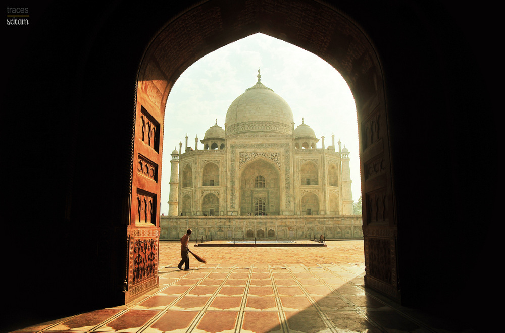 Morning at Taj