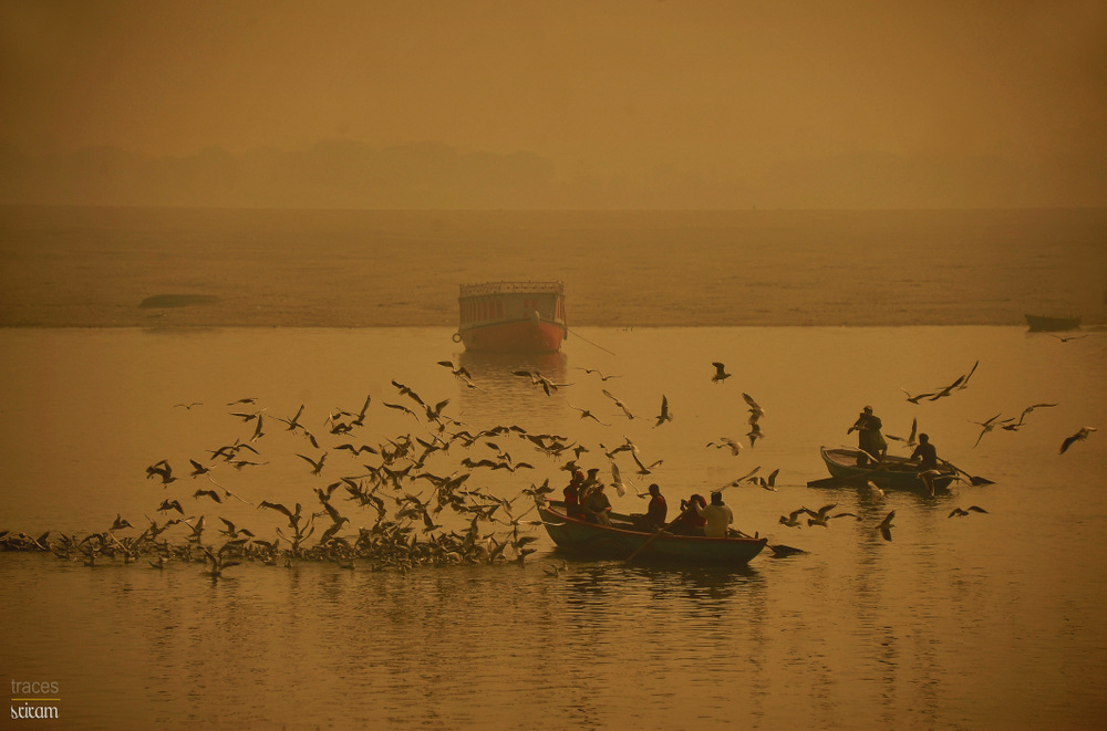 On the glittering Ganges