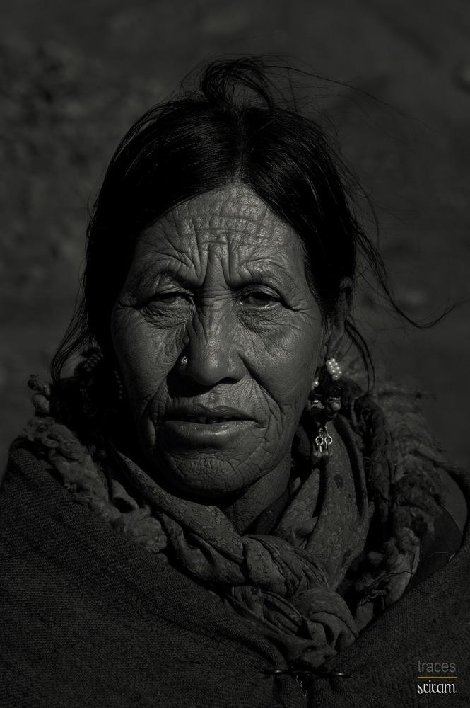 Lady at Kibber