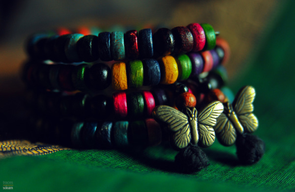 Beads and the butterflies