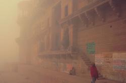 Mystic morning at the Raja Ghats