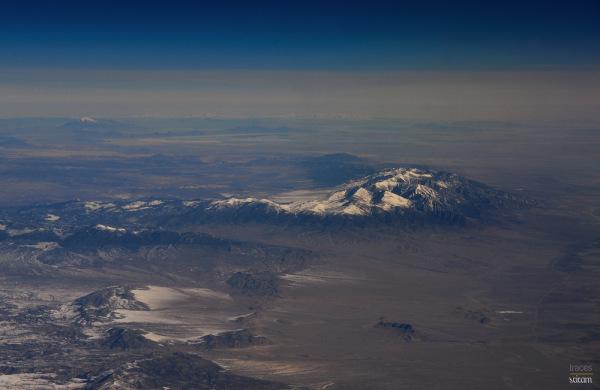 Somewhere above Utah