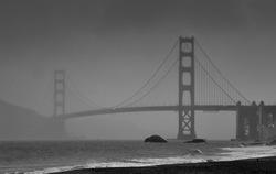 Sanfrancisco, on a rainy day