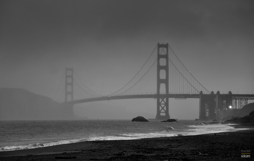 Sanfrancisco on a rainy day