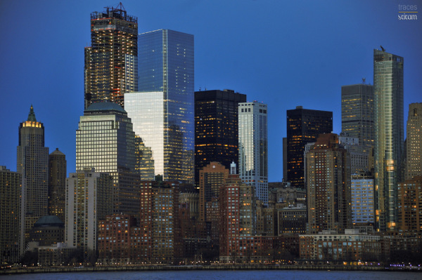 NY at twilight