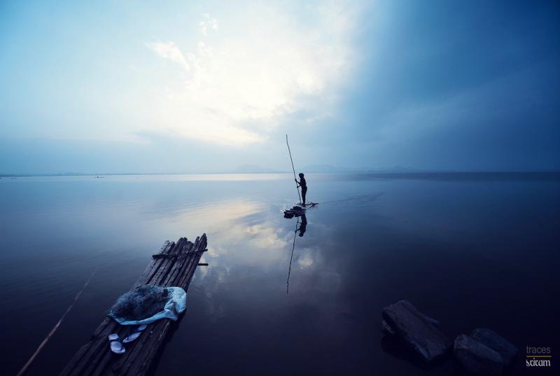Solitude at the lake