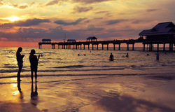 Silhouettes at Clearwater