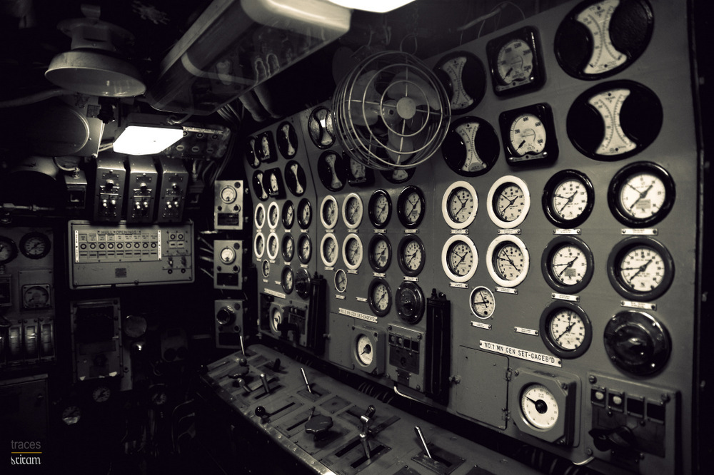 Control room, World war II Sub