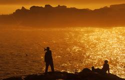 Blissful fishing