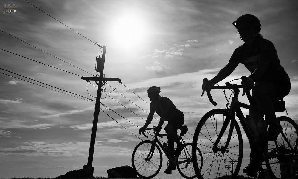 Biking at Sohier