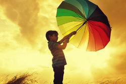 Sun + Rain = Colours