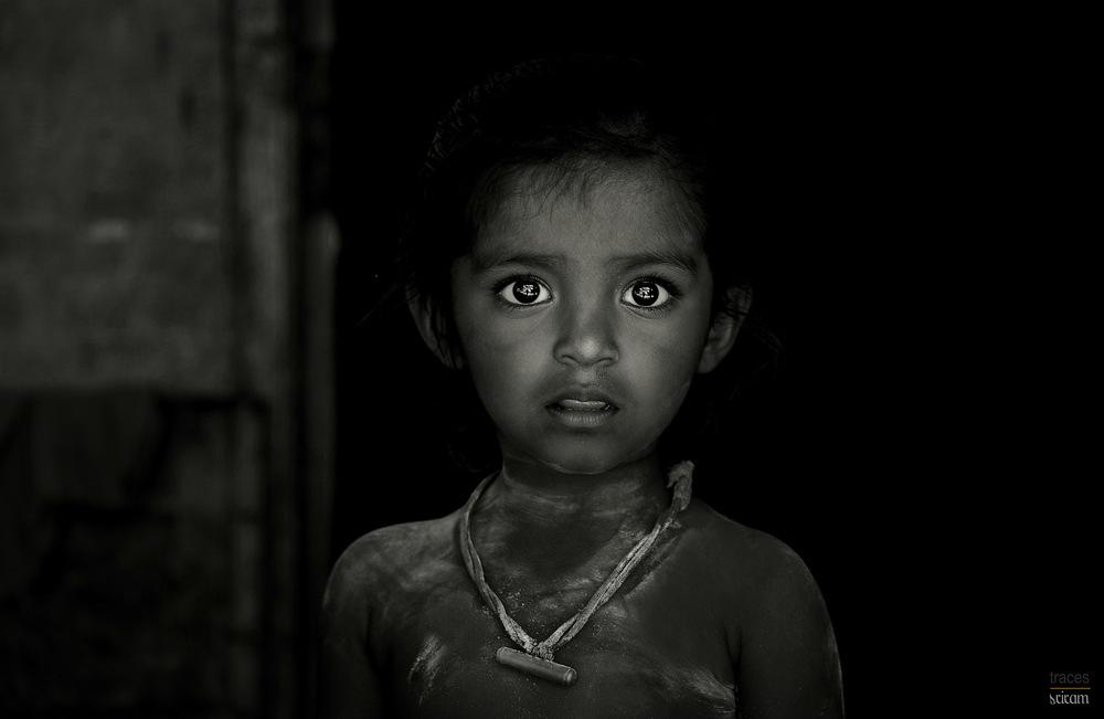 Builder's little girl