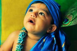 Krishna's own world