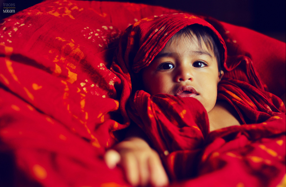 Draped in Red