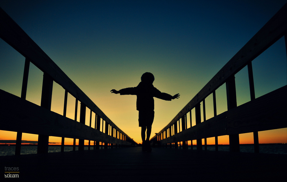 Walk in the bridge