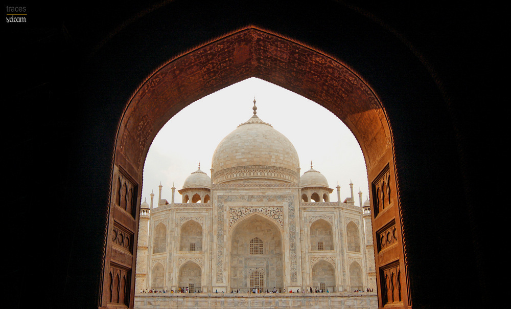 Golden Arches of the Taj