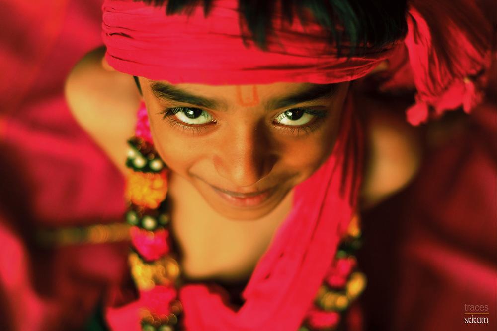 Funny little Krishna
