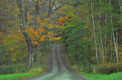 Driving through central Vermont