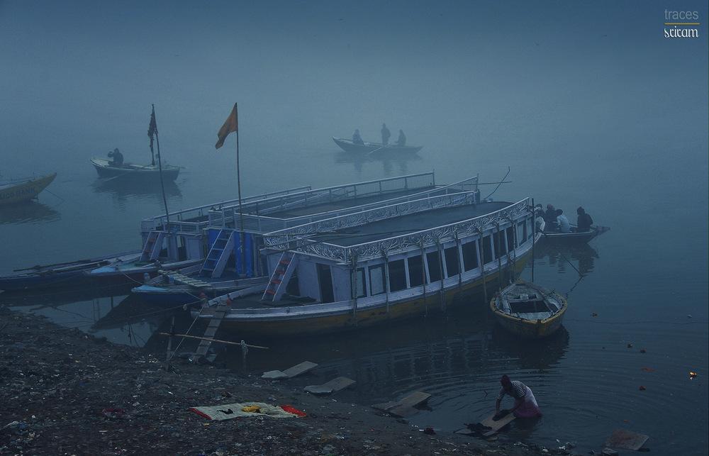 On the banks of Ganga