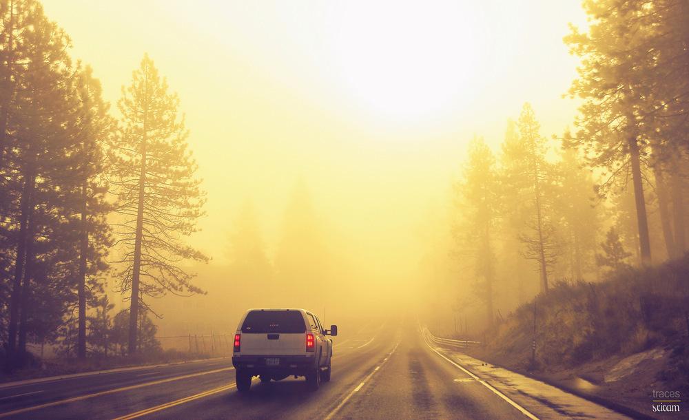 Roadway to Tahoe