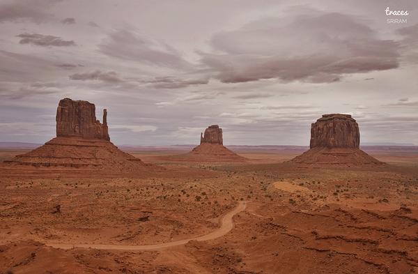Path to the Navajo chants